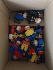 Karton voll Figuren :-)
